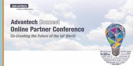 Pridružite se mednarodni spletni konferenci Advantech Connect, 24. februar  - 6. maj 2021