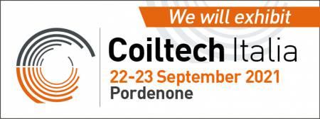 Coiltech 2021- Italia, Pordenone