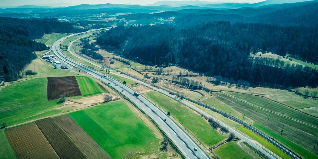 Obnova voziščne konstrukcije na AC Grosuplje–Ivančna Gorica