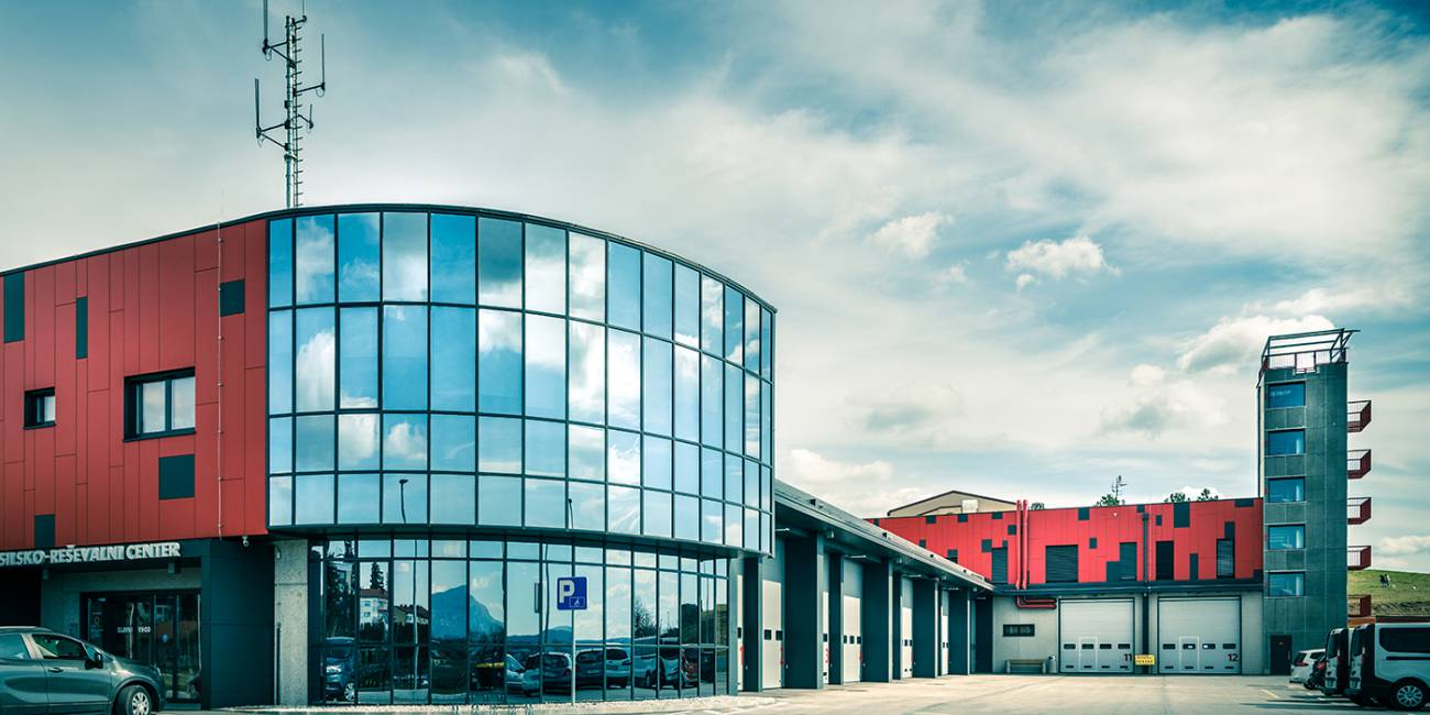 Izgradnja gasilsko reševalnega centra Postojna