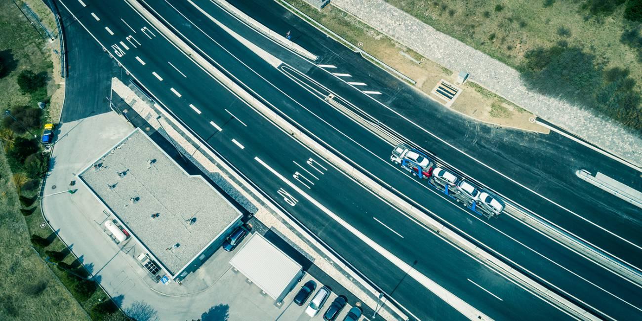 Sklop 1 in 3 – rušitev in preureditev cestninskih postaj