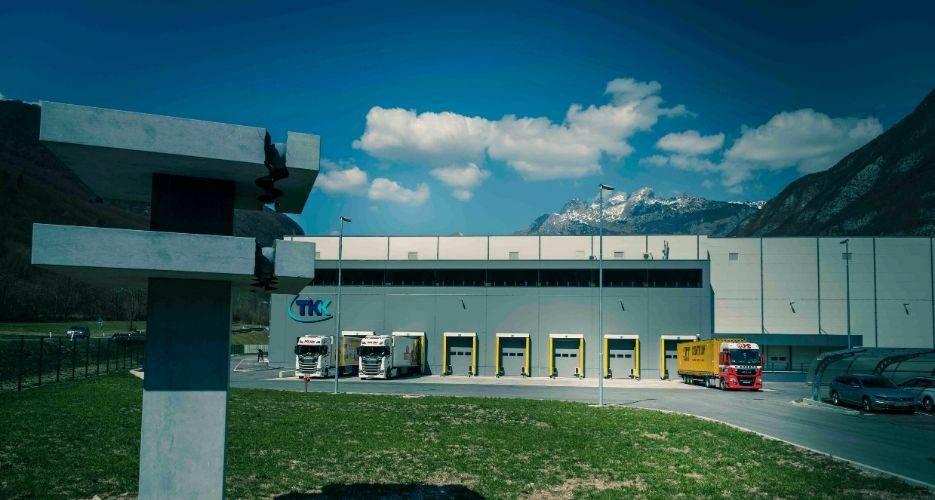Novogradnja visokoregalnega skladišča TKK v Srpenici