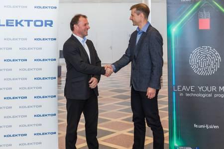Kolektor in ljubljanska Fakulteta za elektrotehniko okrepila sodelovanje