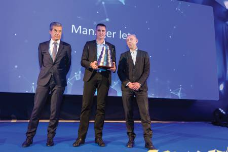 Dejan Velikanje is the Kolektor Manager of the Year