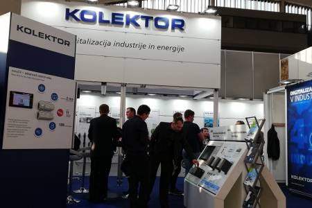 Kolektor Sisteh at professional fairs for the advanced industry