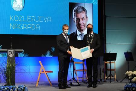 Stojan Petrič prejemnik Kozlerjeve nagrade
